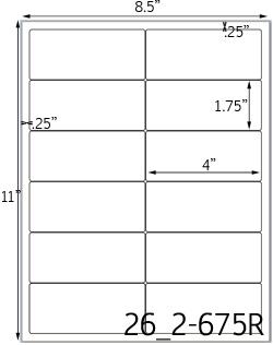 rectangle label sheets inkjet rectangle labels laser rectangle