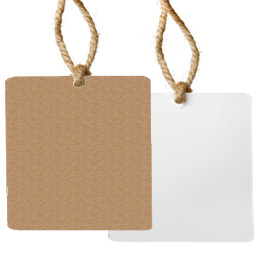 brown kraft and white hang tags for your inkjet or laser printer