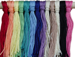 Pre-cut Hang Tag Strings (100 ct., 12&#34; length) <BR>100% Mercerized Cotton 3/2<BR><B>USUALLY SHIPS SAME DAY</B>