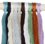 Pre-cut Hang Tag Strings (100 ct., 12&#34; length) <BR>100% Mercerized Cotton 5/2<BR><B>USUALLY SHIPS SAME DAY</B>
