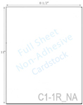 8 1/2 x 11 Non-adhesive Khaki Tan Cardstock<BR><B>USUALLY SHIPS SAME DAY</B>