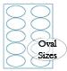 oval brown kraft labels custom printed